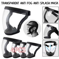 faceshiled, transparentmask, activatedcarbonmask, splashproof
