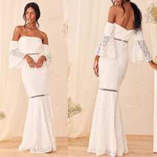gowns, Lace, robedesoiree, Evening Dress