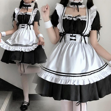 cute, Cosplay, apron, Halloween