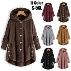 fur coat, Fleece, cardigan, Winter