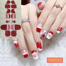 nail stickers, art, Christmas, Beauty
