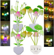 colorchanging, Flowers, led, Mushroom