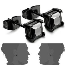 Steel, black, DIAMOND, Stainless Steel