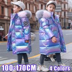 Fashion, kids clothes, Winter, Long Coat