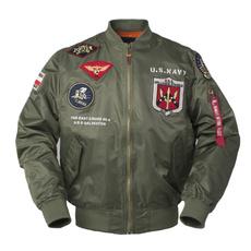 Jacket, Fashion, letterman, Tops