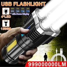 Flashlight, Hiking, Outdoor, led