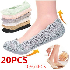 socksamptight, boatsock, Cotton Socks, Lace