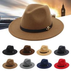 woolen, bowler hat, Cap, unisex