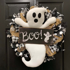 ghost, decoration, Decor, witchwreath