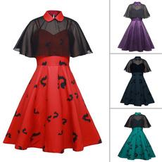 sleeveless, Goth, Fashion, women dresses