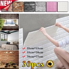 peelandstickwallpaper, Waterproof, TV, Stickers