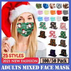 surgicalfacemask, Fashion, mouthmask, Christmas
