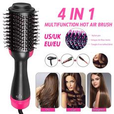 hotairbrush, hairstraightenerbrush, Electric, Beauty