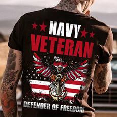veterantshirt, Summer, navyveteran, Fashion