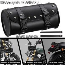 motorcycleaccessorie, leathersaddlebag, frontforkbag, Waterproof