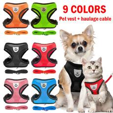 Vest, dogharnessstrap, meshharnessvest, Pets