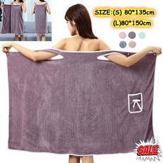 Fleece, Plus Size, Towels, bathskirt