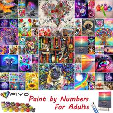 paintbynumber, diypaintbynumber, diypaintbynumbersforadult, art
