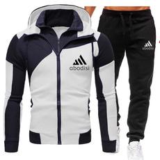 2piecehoodiesweatpantsset, menssportswearsuit, pants, newmensclothingforautumnandwinter