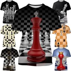 Chess, Shorts, Shirt, Sleeve