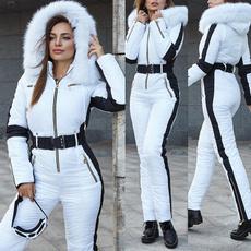 hooded, fur, Winter, pants