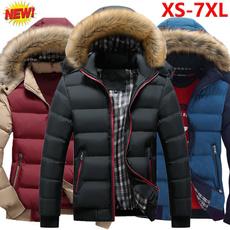 Plus Size, fur, Winter, hoodedjacket