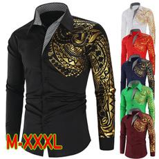 Goth, Fashion, Shirt, gold