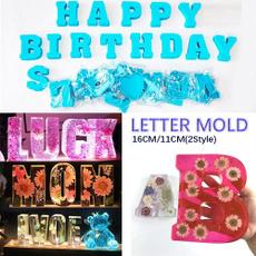 lettermold, resineepoxy, Jewelry, christmasdecor