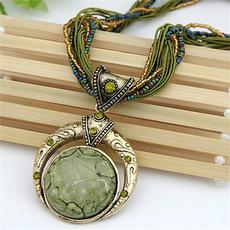 bohemia, fashionpendantnecklace, Jewelry, Chain