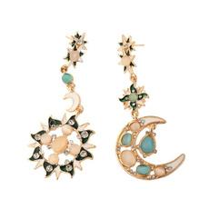 moonearring, Womens Accessories, Fashion, Dangle Earring