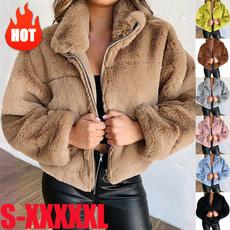 cardigan, fur, Winter, Coat