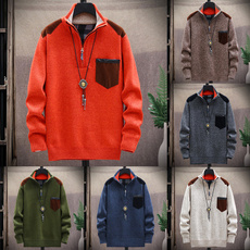 pullovermen, slim, Winter, Sleeve