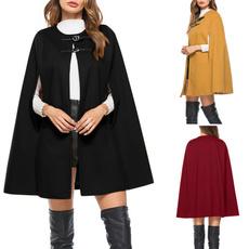 womencloak, Winter, Elegant, Coat