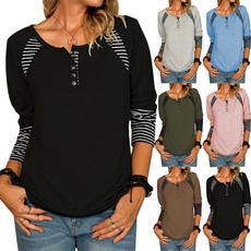 women pullover, Tops & Tees, Long Sleeve, casual shirt