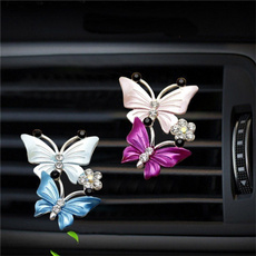 butterfly, perfumeclip, freshenerclip, airconditionerclip