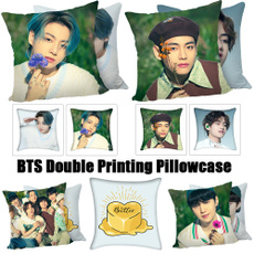 K-Pop, pillowcasehome, decorativepillowcase, Pins