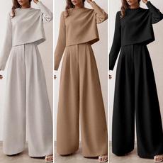 longtrouser, women track suit, pants, Long Sleeve