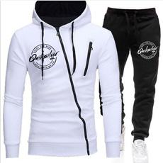 Jacket, Casual Hoodie, Winter, 2piecesuit