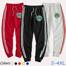Fashion, Sports Pants, autumnandwintermodel, Casual pants