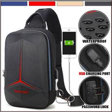 Shoulder Bags, usb, Waterproof, chestpack
