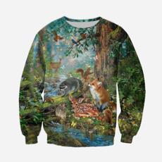 Fashion, unisexsweatshirttop, mensandwomenstop, Elephant