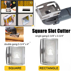 Electric, gadget, squareslotcutter, screwdriverkeychain