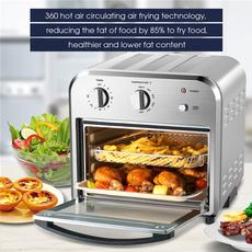 Steel, Kitchen & Dining, toaster, airfryer