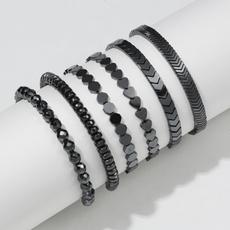 black bracelet, Fashion, healthbracelet, Jewelry