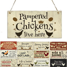 Funny, chickenaccessorie, Garden, Gifts