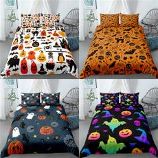 happyhalloween, Bat, beddingpillow, beddingsetsqueen