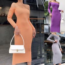 womens dresses, Necks, Sleeve, Long Sleeve