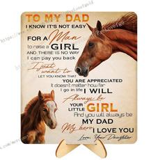 dad, horse, tomydad, art
