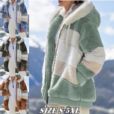 Fashion, keepwarmcoat, Gel, fluffy