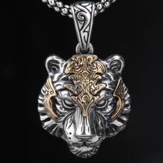 Necklace, amulet, Head, Fashion